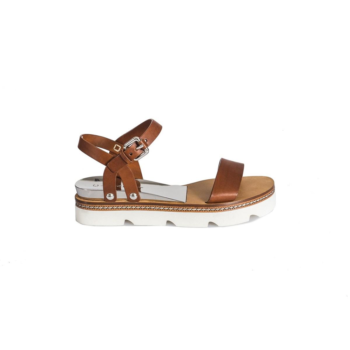 Leather Platform Sandals 121