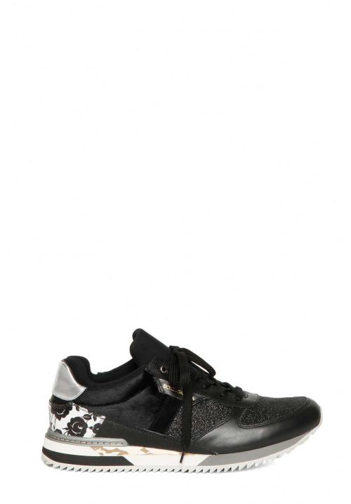 Dolce & Gabbana Patchwork Leather Sneakers