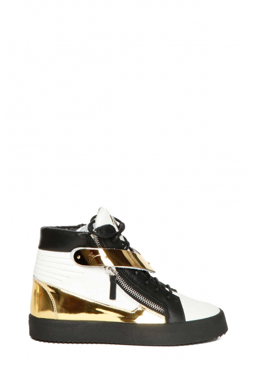 Giuseppe Zanotti Design May London Leather Sneakers